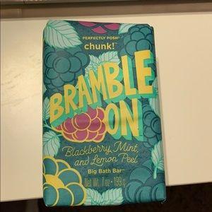 Bramble on chunk bar
